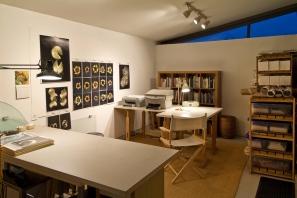 Connie Zehr Studio in Claremont CA 2010_Photo by Gene Ogami