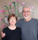 Dawn Arrowsmith and Roland Reiss at The Brewery studio in LA CA 2011_Photo by Jill Thayer PhD