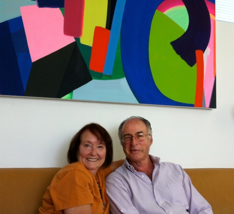 Karen Anderson and Michael Brewster in Venice CA 2011_Photo by Jill Thayer PhD