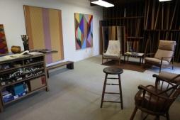 Karl Benjamin studio3 in Claremont CA 2011_4_photo by January Parkos Arnall PhD