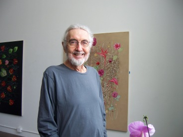 Roland Reiss in studio at The Brewery Los Angeles_photo by Jill Thayer PhD 2011.JPG