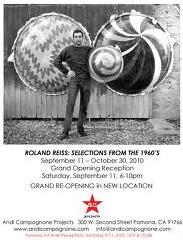 Roland Reiss_Selections for the 1960s_Exhibition Announcement_CU Boulder 1963